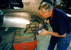 Fay Butler Metal Fabrication Forming And Flanging Machine